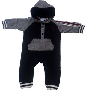 U.S. Polo Assn Stripe Sweatersuit Hoodie
